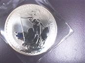 ROYAL MINT OF GREAT BRITIAN Silver Bullion 2000 BRITANNIA 1OZ SILVER COIN